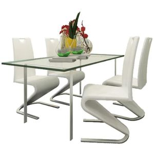 SALLE À MANGER  4 pcs Chaise de Salle à Manger | Chaise de Cuisine