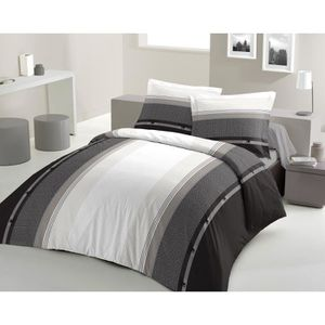 housse de couette achat vente housse de couette pas. Black Bedroom Furniture Sets. Home Design Ideas