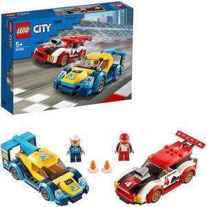 ASSEMBLAGE CONSTRUCTION LEGO® City 60256 Les voitures de course