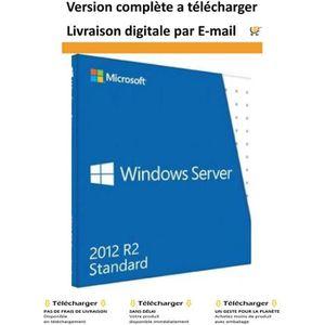 SYSTÈME D'EXPLOITATION Server 2012 R2 Standard  -