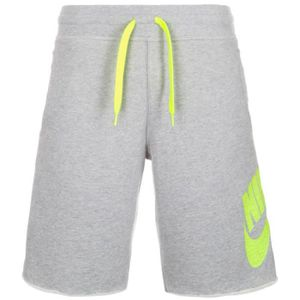 Short NIKE Basketball AW77 FT Alumni Gris Gris vert