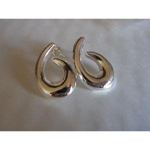 14 kt or Blanc Boucles D/'Oreilles Brillant Bébé 10 mm Hoop Style Petite Taille Neuf Paire de petites