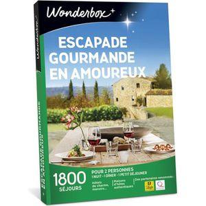 COFFRET SÉJOUR Wonderbox - Coffret cadeau en couple - ESCAPADE GO