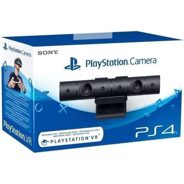 playstation camera ps4 pour ps4 et ps4 pro achat vente pack accessoire playstation camera. Black Bedroom Furniture Sets. Home Design Ideas