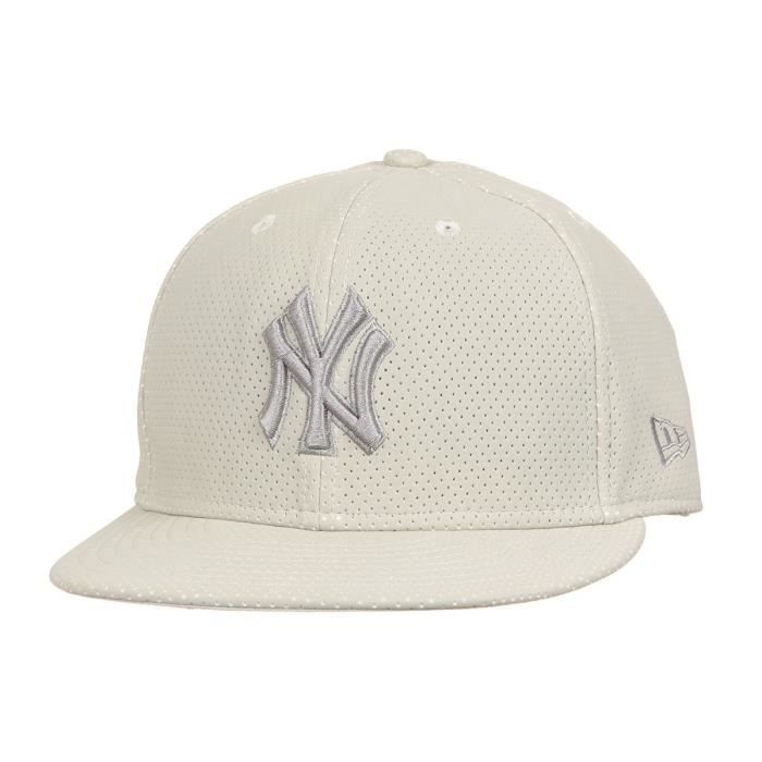 NEW ERA Casquette Collection New York Yankees Flaw 59FIFTY - Beige