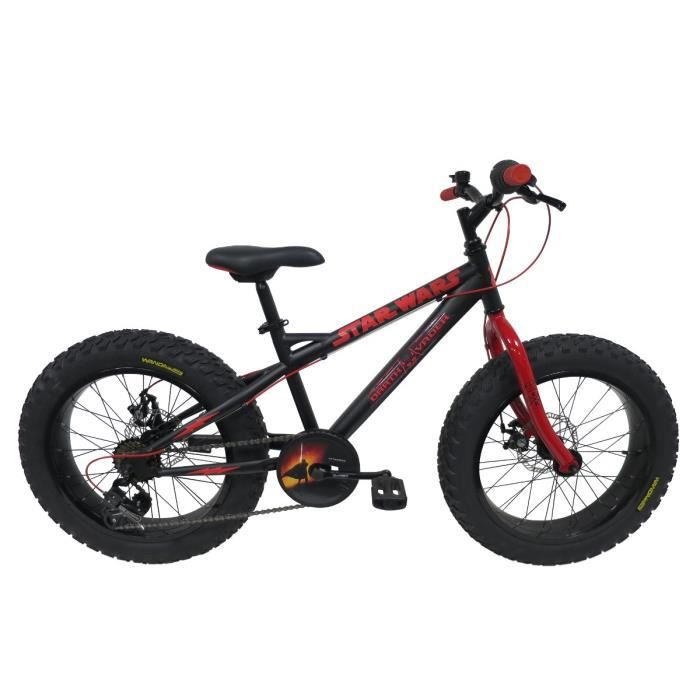star wars v lo vtt fatbike 20 pouces enfant gar on 9 12. Black Bedroom Furniture Sets. Home Design Ideas
