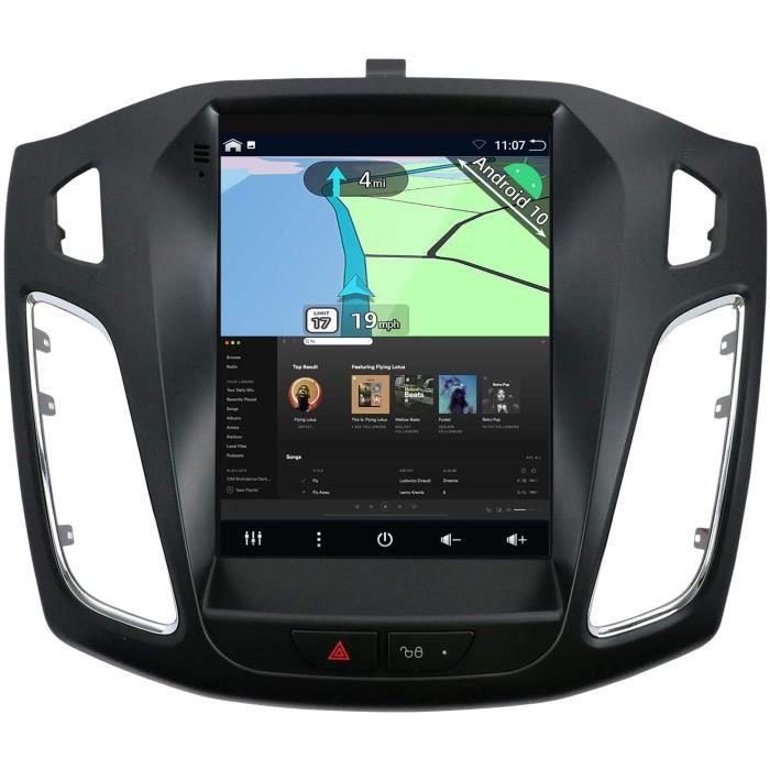 YUNTX Android 10 Autoradio Compatible avec Ford Focus (2010-2013) - GPS 2 Din - 2G32G - Cam&eacutera arri&egravere & Canbus G148