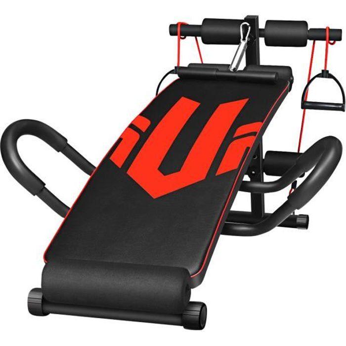 UNIQUE V Banc De Musculation Réglage - Équipement de Fitness Pliable - Exercice Muscles Abdominaux Multifonctionnel