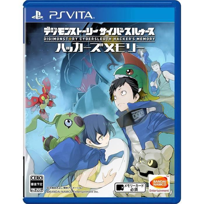 Digimon Story Cyber Sleuth Hacker's PS Vita SONY Playstation Import Japonais