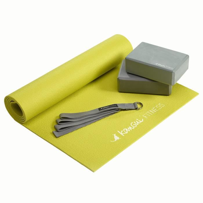 Kangui - Kit d'accessoires de yoga - PACK YOGA BASIC