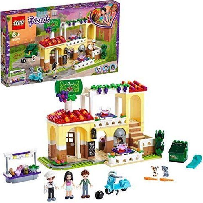 LEGO®-Friends Le restaurant de Heartlake City Jouet pour Fille et Garçon à Partir de 6 Ans et Plus, 624 Pièces 41379 41379