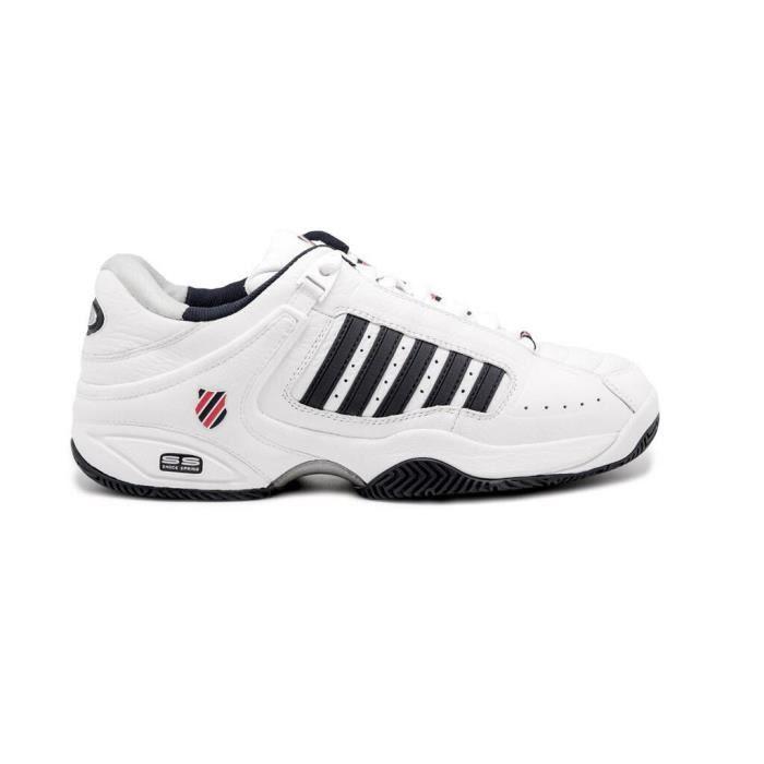 Chaussures de tennis K-Swiss defier rs - blanc/bleu/rouge - 46
