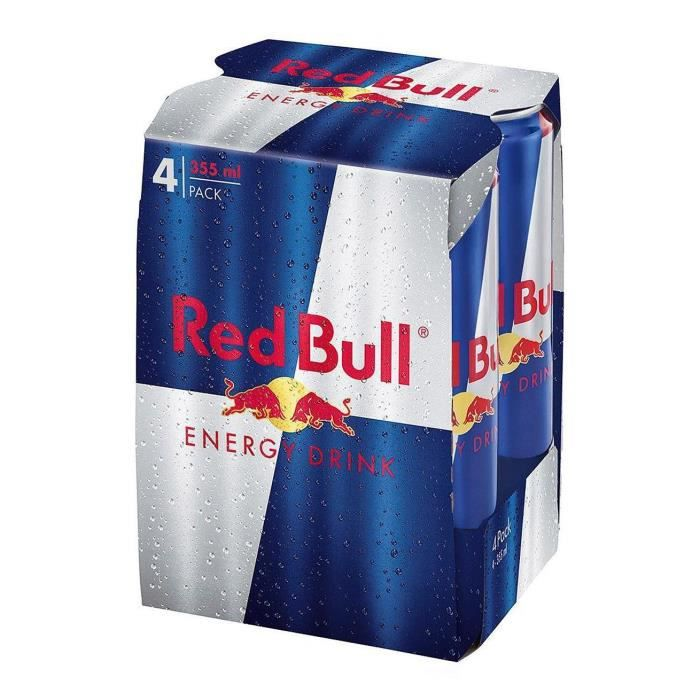 RED BULL Energy Drink 4x35,5cl