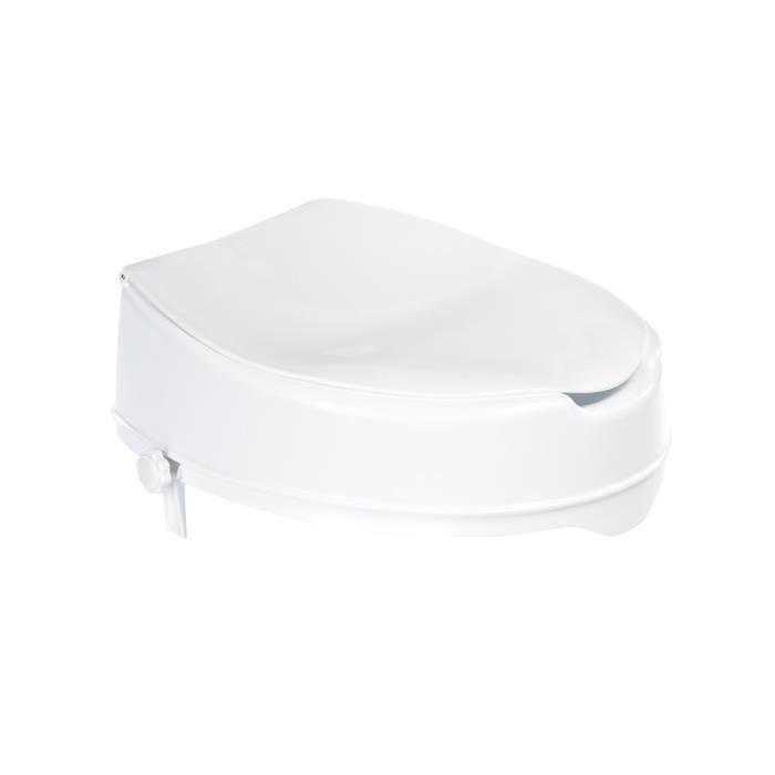 RIDDER Siège de toilette avec couvercle Blanc 150 kg A0071001