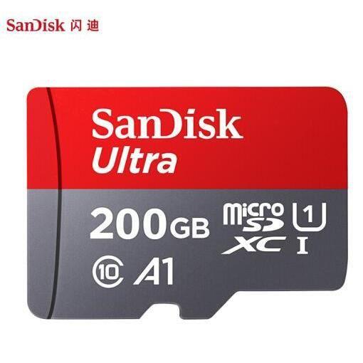 Sandisk Ultra 500Go Carte Mémoire Micro Sd U1 A1 Sdhc Vitesse de Lecture 98Mb S, Classe 10