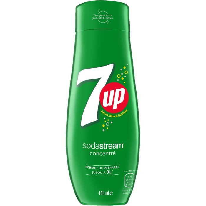 SODASTREAM Concentré 7UP 440ml