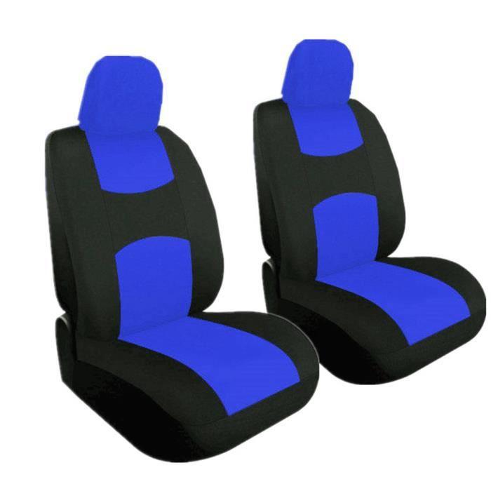 Housse de Siège Auto Universelle coussins pour Siège Voiture,auto Protecteur de siège, Couvre Siège voiture - Bleu24