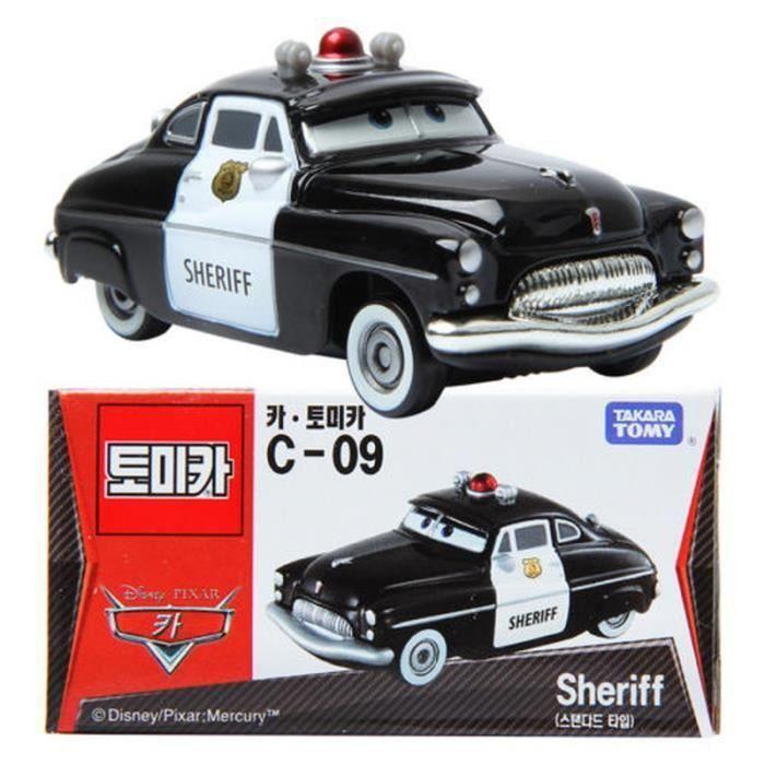 TAKARA TOMY TOMICA Disney Motors C-09 Disney Pixar Cars C09 Sheriff Toy Car New Sealed