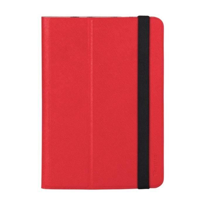 TARGUS Etui universel Foliostand pour tablette 7-8- - Rouge