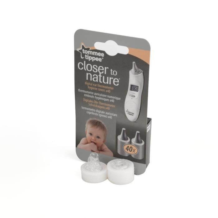 TOMMEE TIPPEE Embouts pour Thermomètre Auriculaire X40
