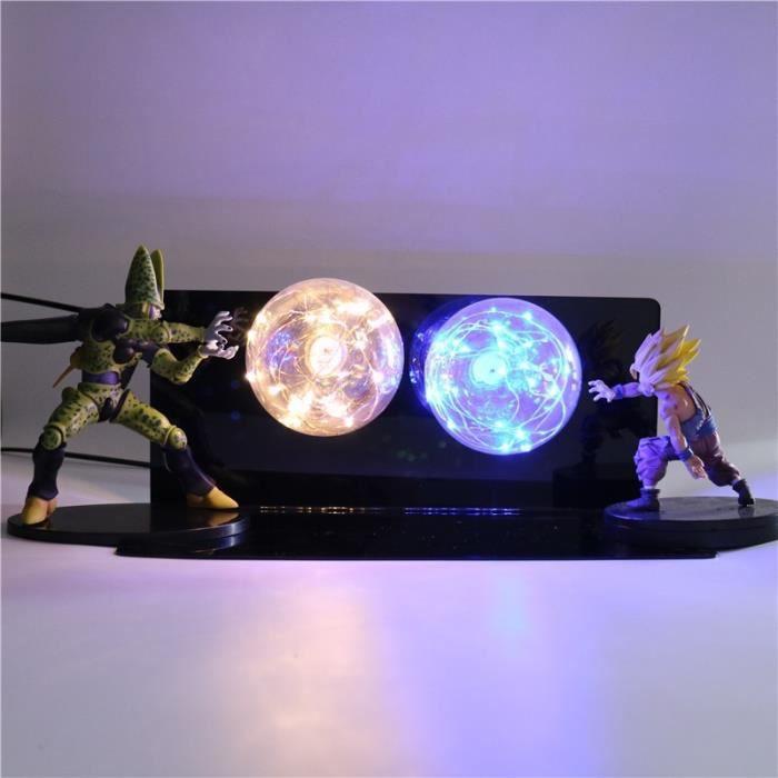 Dragon Ball Z 3D lampe de chevet cellule Gohan lampe décorative DBZ Son Goku Luminaria LED veilleuse enfants lampe de Table pour cha