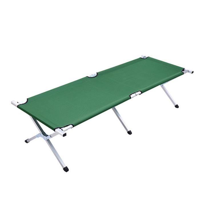 5 mod/èles id/éal pour Faire du Camping Voyager Hzl Lit de Camp Pliable de Portable avec Sac