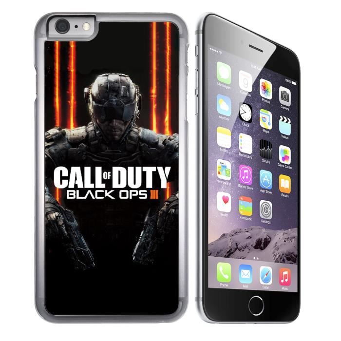 Coque iPhone 8 Call of Duty Black Ops 3 Logo