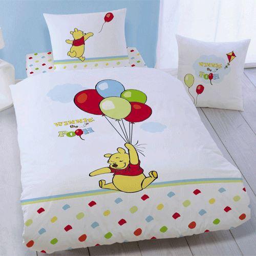 Parure de lit Winnie l\'ourson Ballons - Achat / Vente parure ...
