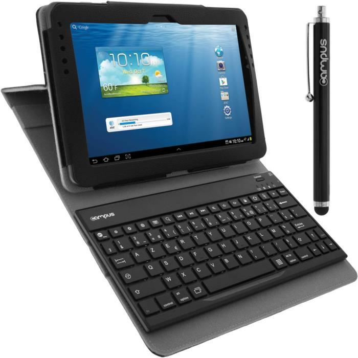 etui clavier bluetooth samsung galaxy tab 2 10 1 achat. Black Bedroom Furniture Sets. Home Design Ideas