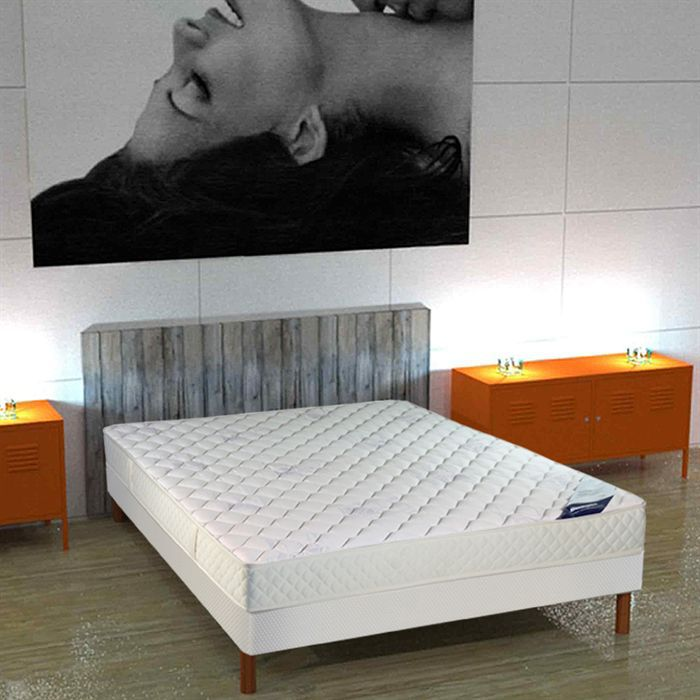 matelas 140x190 mousse dunlopillo achat vente matelas cdiscount. Black Bedroom Furniture Sets. Home Design Ideas