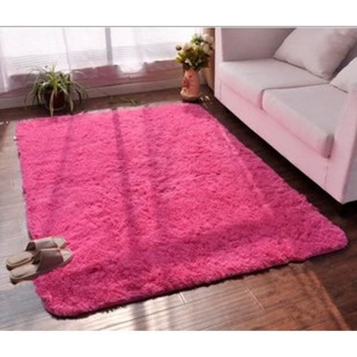 Tapis chambre tapis salon carpet d enfant yoga shaggy Achat tapis salon