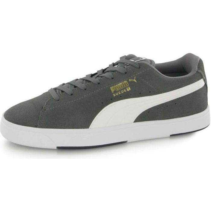 Puma Suede S gris, baskets mode homme