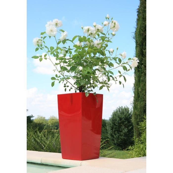 Pot De Fleur Exterieur Rouge Pas Cher