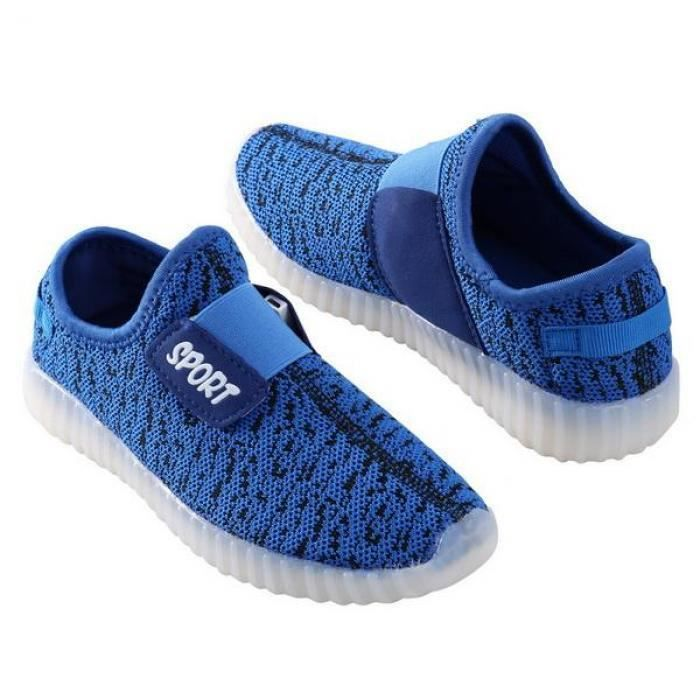 Chaussures Baskets LEDSlip on Sneaker enfants xcwB8SYqUw