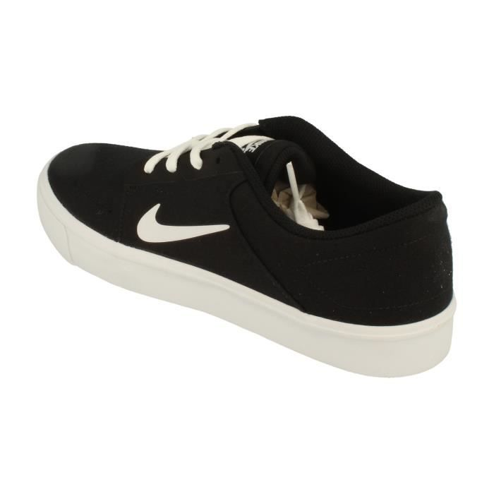 noir Canvas Sb Hommes Chaussures Multicolore Nike Trainers Sneakers 723874 Portmore 001 qv74dxEw