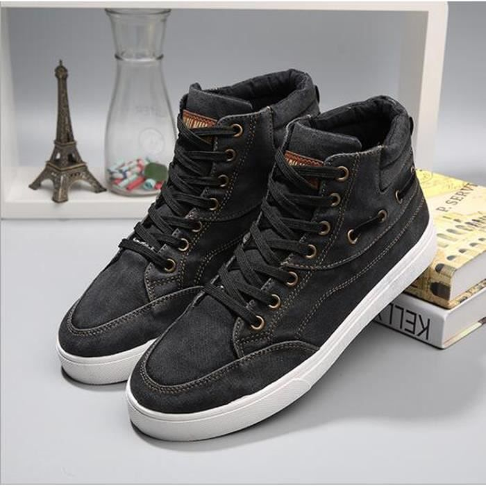 Baskets Montantes Hommes Baskets a Lacets Chaus... hUokI