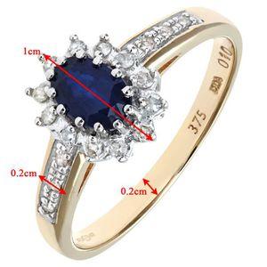 Vermeil 0.25 Ct Véritable Diamant Kite Or Homme Boucles d/'oreilles