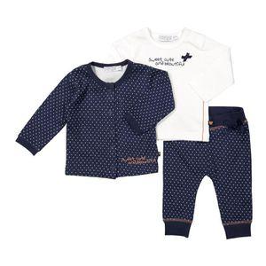Ensemble de vêtements DIRKJE Ensemble Cardigan + Pantalon et T-shirt Ble