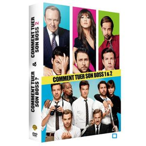 DVD FILM DVD pack Comment tuer son boss 1 & 2