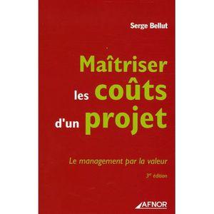LIVRE GESTION Maîtriser les coûts d'un projet