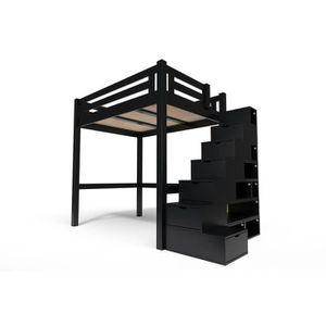 Meuble Escalier Noir