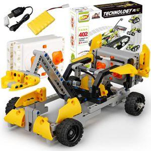 VOITURE - CAMION Kit de bricolage R / C 10 dans 1 voitures de cours