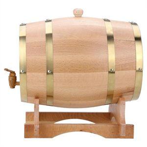 CITERNE - CUVE - FUT - JERRYCAN 10L Tonneau à vin en bois de chêne pour bière et w
