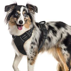 HARNAIS ANIMAL Gilet pour chien/Harnais Chien- Noir taille S -- A