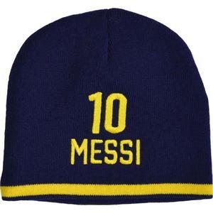 BONNET - CAGOULE Bonnet Barça - Lionel Messi - Collection officiell