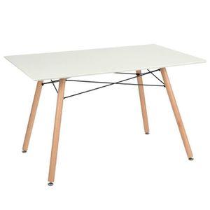 TABLE À MANGER SEULE Table à manger 4 à 6 personnes LARAS Table de Sall
