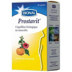 CONFORT URINAIRE Bional - Prostavit 40 capsules PROSTATE