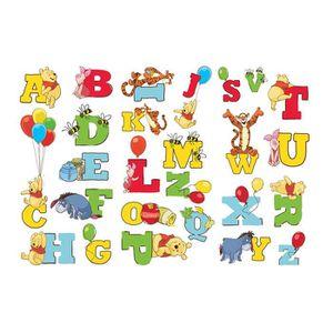 STICKERS Stickers Alphabet Winnie 18,5cm x 37cm (Disney)