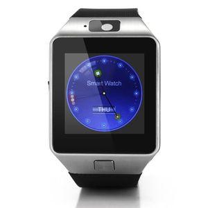MONTRE CONNECTÉE Date fente Bluetooth montre Smart Watch DZ09 GSM c