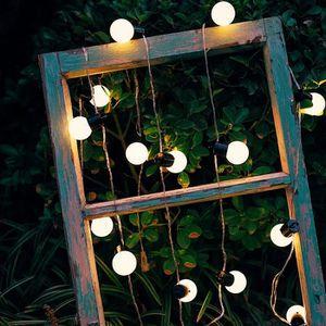 GUIRLANDE D'EXTÉRIEUR Guirlande lumineuse 20 Ampoules LED Extérieur 5M B